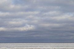 Icy sea. Royalty Free Stock Images