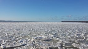 Icy Sea Royalty Free Stock Images