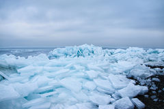 Icy sea. Royalty Free Stock Photos
