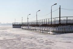 Icy sea Stock Photo