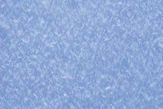 Icy snow crystal macro detail winter landscape ground Royalty Free Stock Images