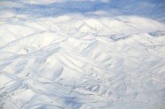 Icy Snow Mountains Royalty Free Stock Photos