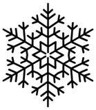icy snowflake stock illustrationer