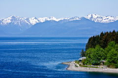 Icy Strait Point Royalty Free Stock Photo