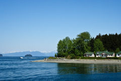Icy Strait Point Royalty Free Stock Photography