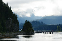 Icy Strait Point, Alaska Stock Photo