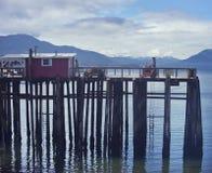 Icy Strait Point, Hoonah, Alaska, USA Royalty Free Stock Photos