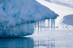 Icy teeth Stock Images