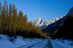Icy Travel Royalty Free Stock Photography