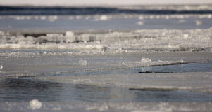 icy vatten Arkivbild