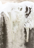 Icy waterfall Stock Image
