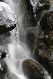 Icy Waterfall. Waterfall at Tongariro National Park in New Zealand Stock Photos