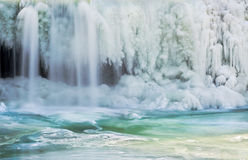 Icy Waterfall Royalty Free Stock Images