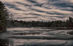 Icy Morning Royalty Free Stock Photography