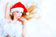 Icy woman Stock Photography