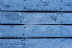 Icy Wooden House Floor Royalty Free Stock Images