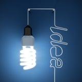 Idé för ljus kula Royaltyfri Fotografi