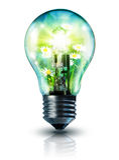 Idée écologique Images libres de droits