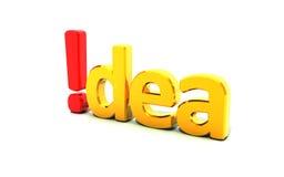 Idée Photographie stock libre de droits