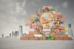 Idée créative d'affaires Photographie stock libre de droits