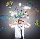 Idée créative d'affaires Image libre de droits
