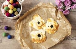 Idée créative pour la nourriture d'enfant Petit déjeuner, casse-croûte, déjeuner ou dîner drôle Children& x27 ; pizza de s, croût photographie stock