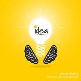 Idée d'échange d'idées Images stock