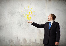Idée d'affaires Images libres de droits
