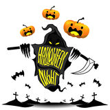 Idée d'illustration de vecteur de conception de Halloween Photographie stock libre de droits