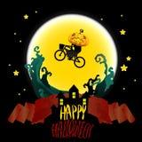 Idée de Halloween d'illustration de vecteur Image stock