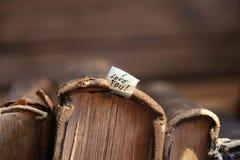 Idée de jour de valentines, je t'aime texte Orientation molle Photographie stock libre de droits