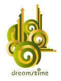 Idée de logo de Dreamstime Photo libre de droits