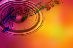 Idée de musique Photos libres de droits
