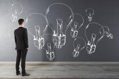 Idée et concept de créativité image libre de droits