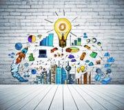 Idée et concept de finances Photographie stock libre de droits