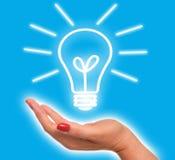 Idée lumineuse Image stock