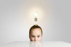 Idée lumineuse Photo libre de droits