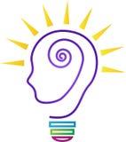 Idée lumineuse créative illustration libre de droits