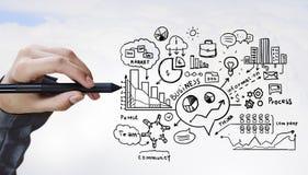 Idée pour la réalisation de succès images stock