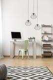 Idée simple de siège social Photo stock