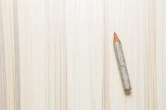 Idée symbolique de crayon de plan rapproché court d'image Photos libres de droits
