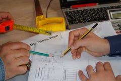 Idéer att starta en affär Konsultera för små och medelstora företag Arkivfoton