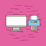 Idéer för grafisk formgivare vektor illustrationer
