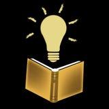Idéer från en bok Arkivfoton