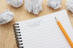 Idées Images stock