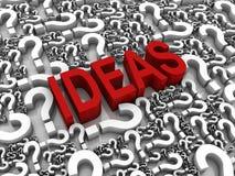 Idées illustration stock