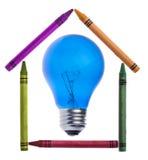 Idées au sujet d'une maison créatrice images stock