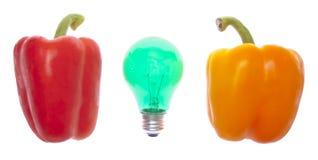 Idées au sujet de nourriture image libre de droits