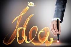Idées créatrices Images stock