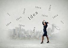 Idées d'affaires Photo libre de droits